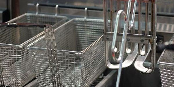 Industrial fryer Cleaning