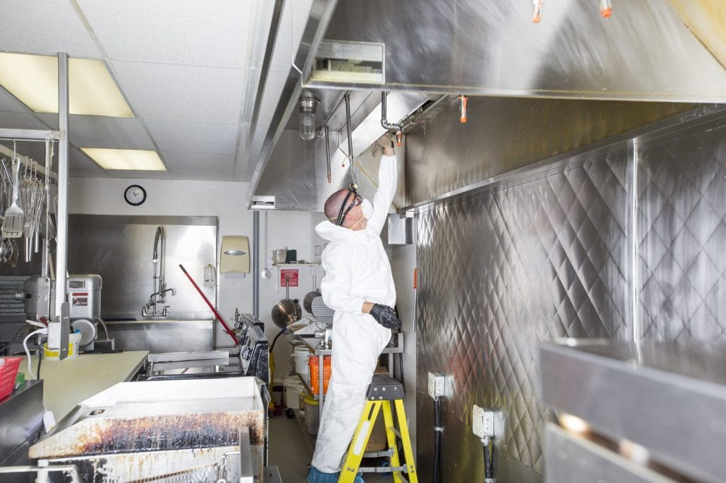 commercial kitchen deep cleaning uk